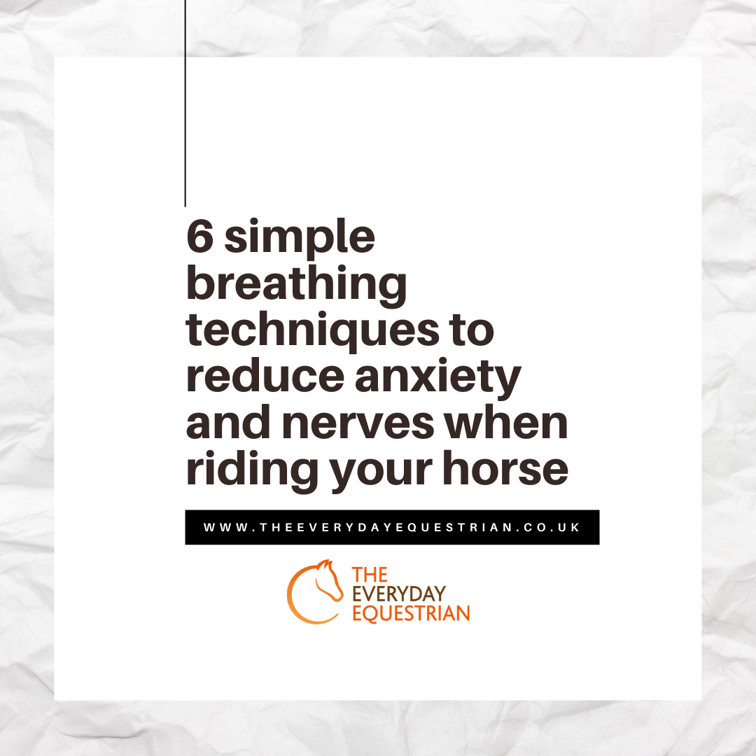 Breathing exercises for riders