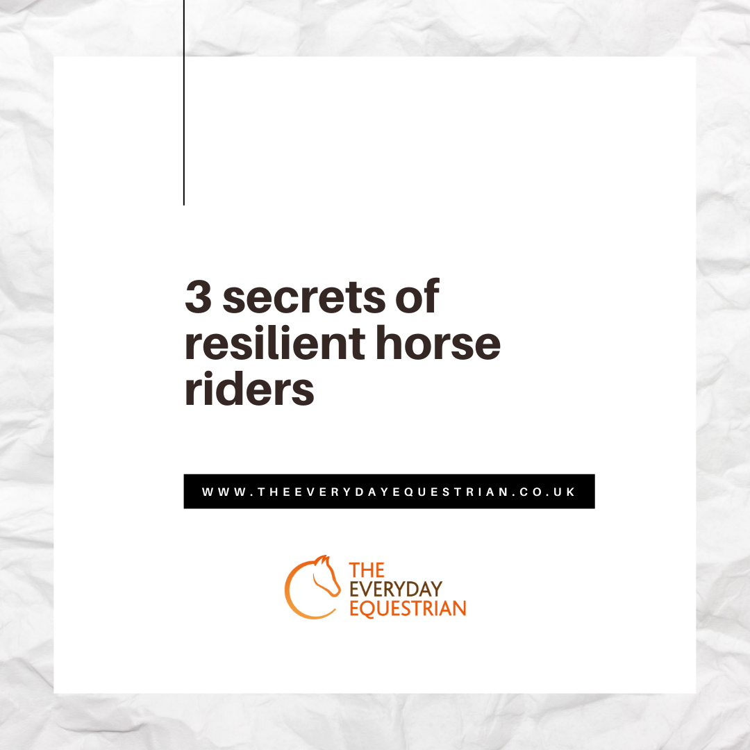 3 secrets of resilient riders